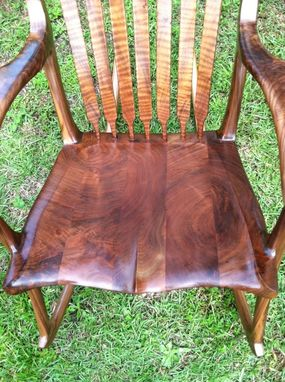 Custom Made Wyoming Walnut Rocker
