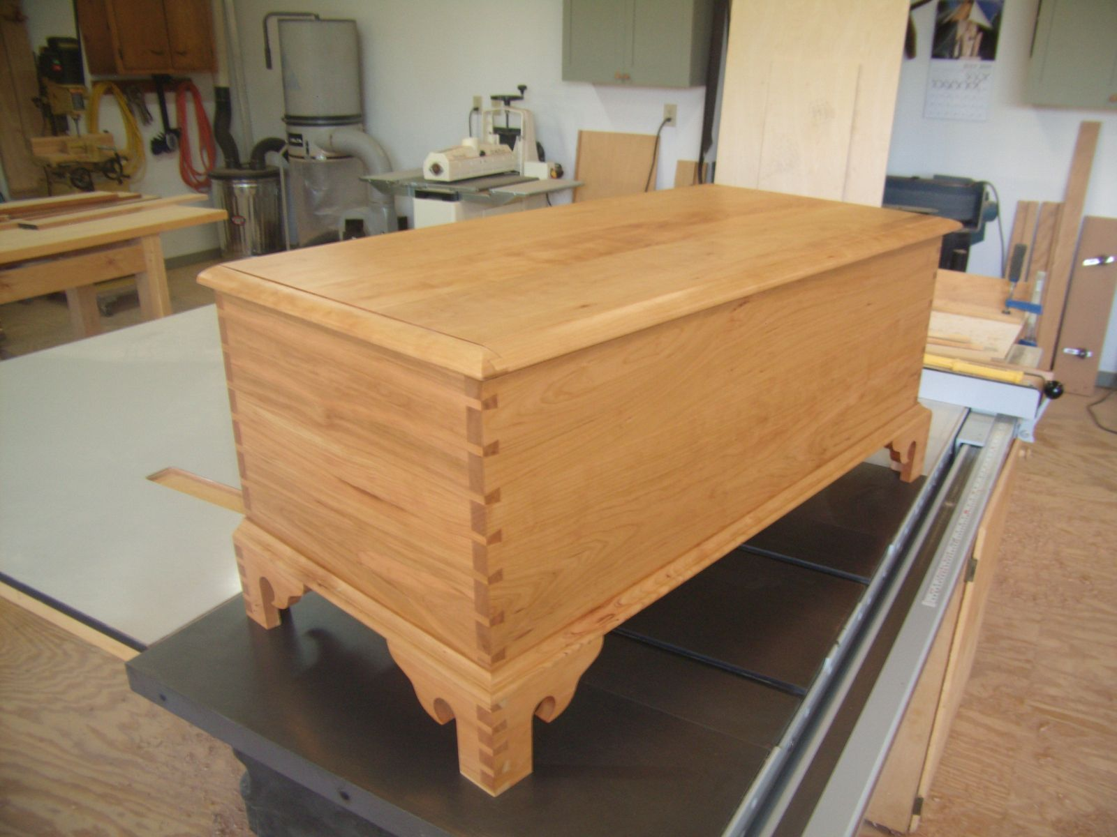 Custom made chippendale blanket chest by byrd woodworking for Blanket chest designs