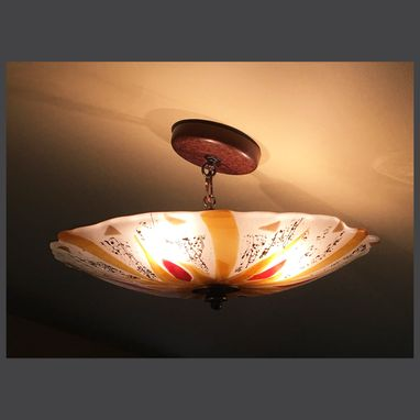 Custom Made Mushroom Ceiling Light