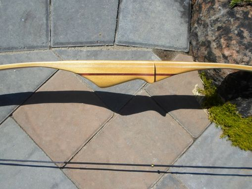 "Custom Made Youth Hickory Longbow 48"" - Available Now"