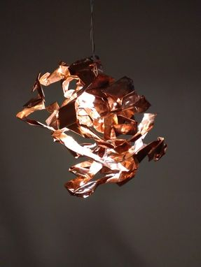 Custom Made Sculptural Lighting Piece