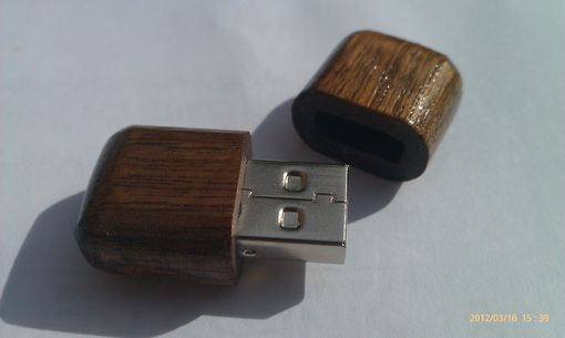Custom Made Wooden Memory Stick