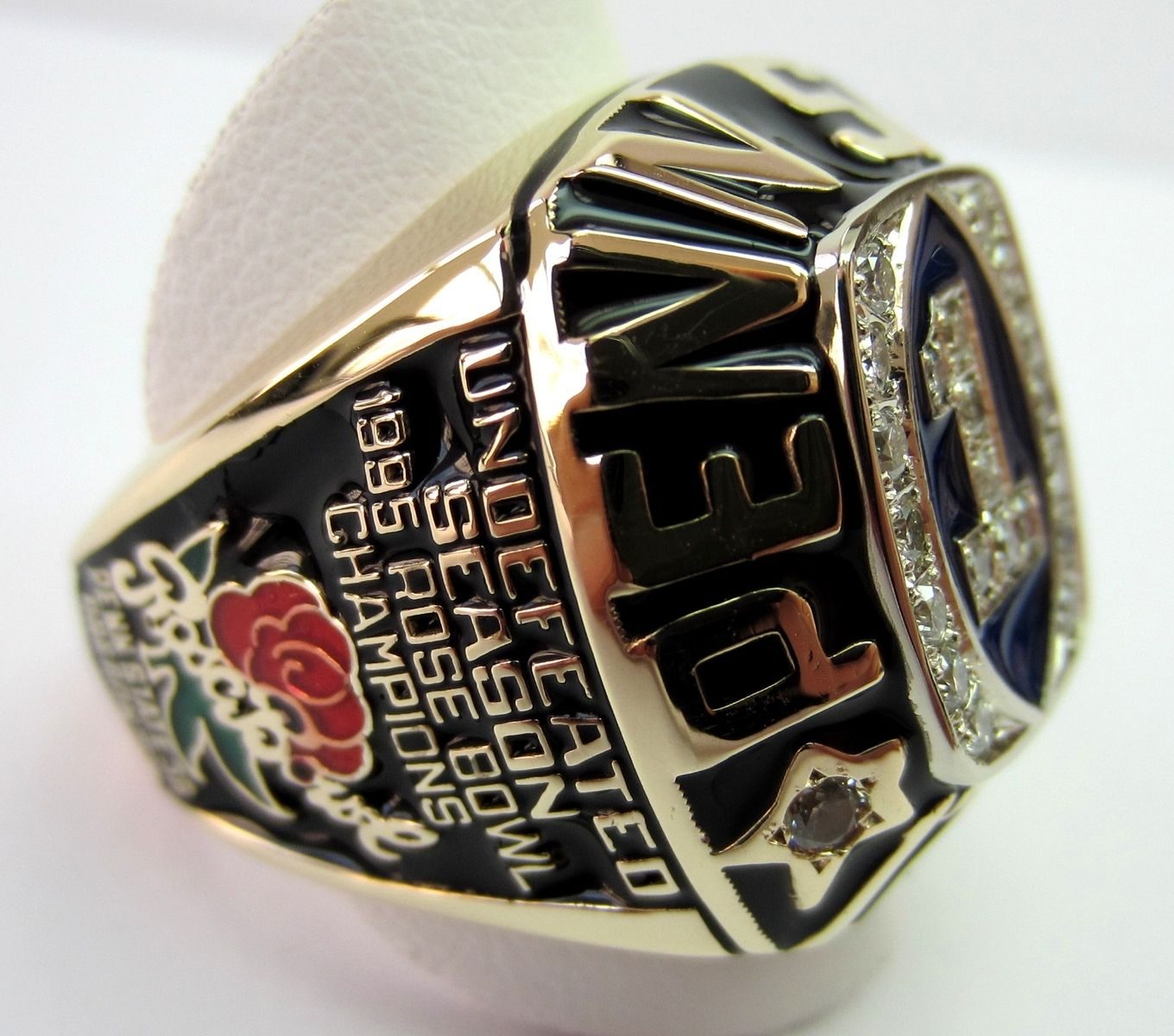 Custom Penn State Championship Ring by Limpid Jewelry Inc ...