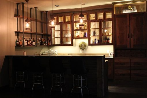 Custom Made Reclaimed Home-Bar