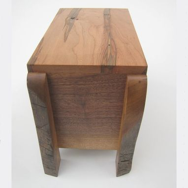 Custom Made Modern Rustic Cremation Urn