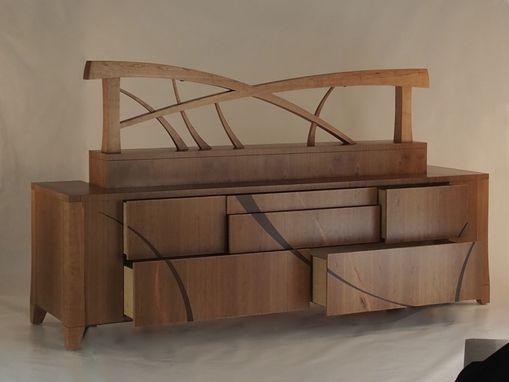 Custom Made Headboard, Dresser, Bedside Tables