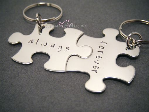 Custom Made Always Forever Keychains