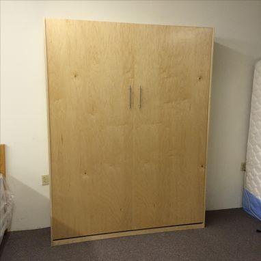 Custom Made Queen Maple Murphy Bed