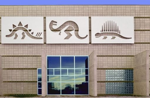 Custom Made Architectural Art | Dinosaur