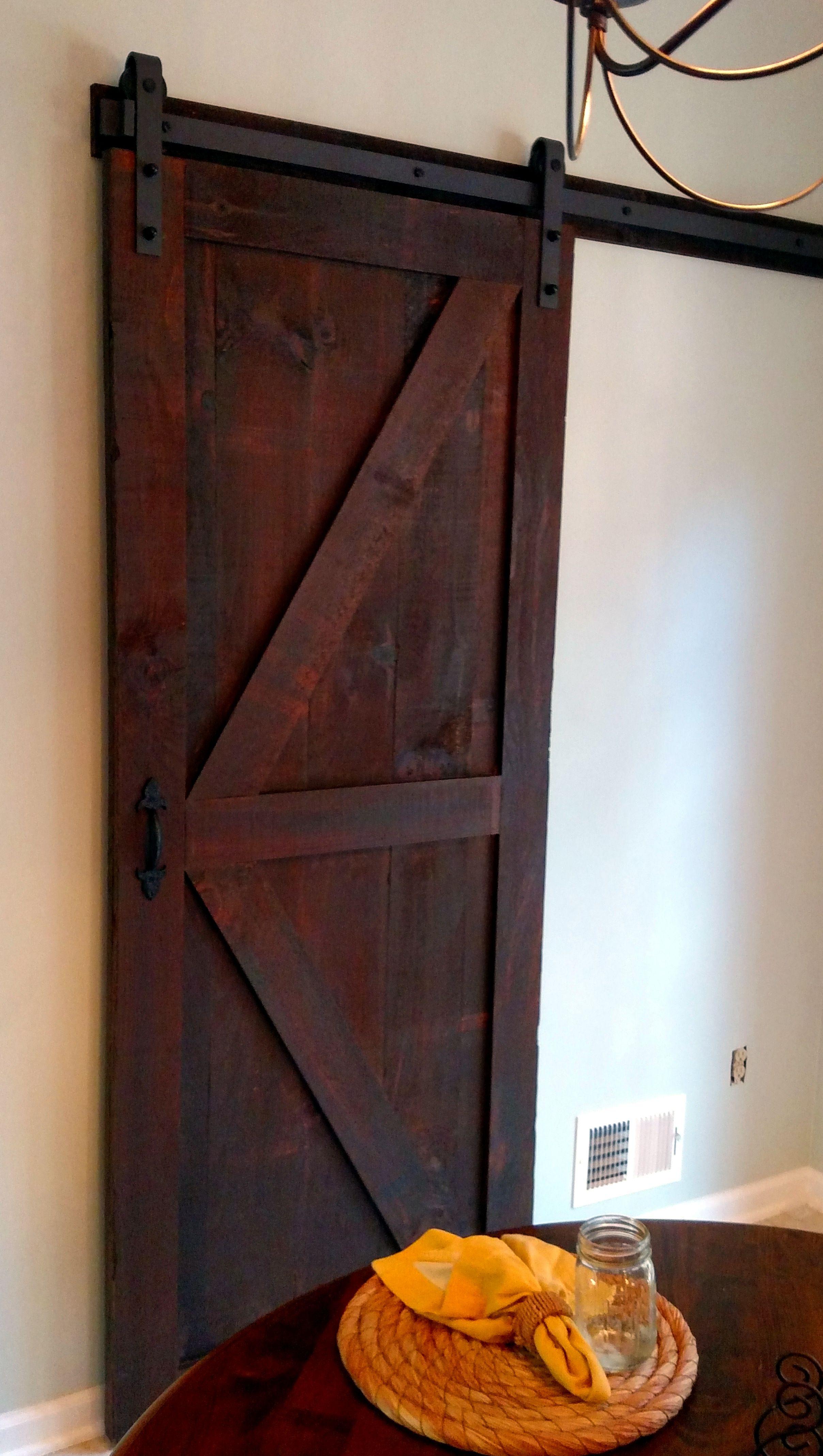 Custom Made Barn Door
