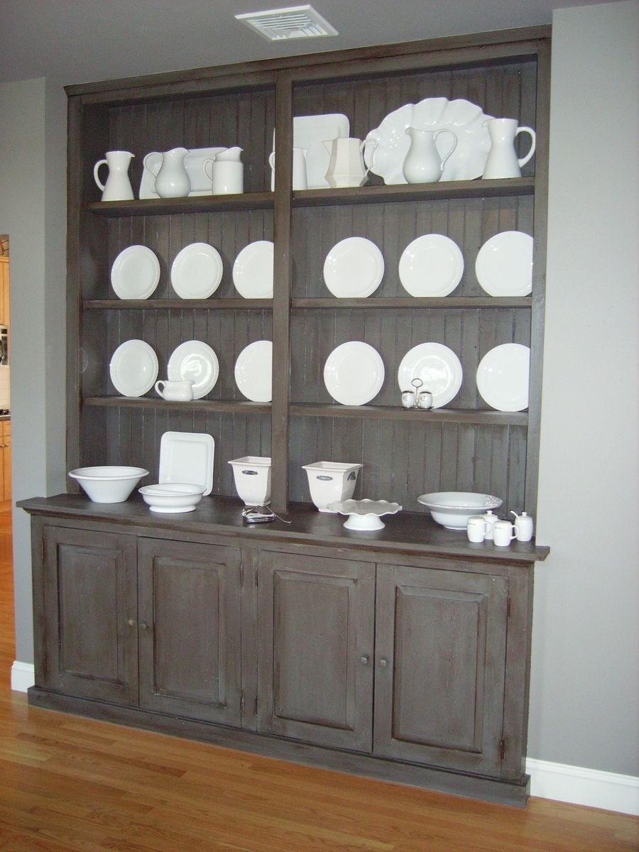 Custom Made Built In Hutch By Reclaimed Wood Furnishings