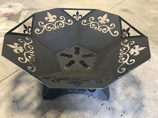Custom Made New Orleans Style Decorative Fire Pit