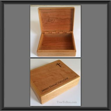 Custom Made Custom Wooden Bible Boxes