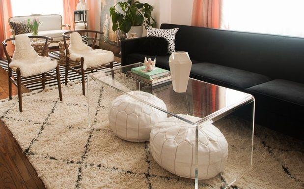 Super Buy A Hand Made Acrylic Waterfall Edge Coffee Table Hand Cjindustries Chair Design For Home Cjindustriesco
