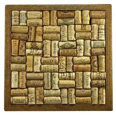 Custom Made Wine Cork Trivets / Wall Art