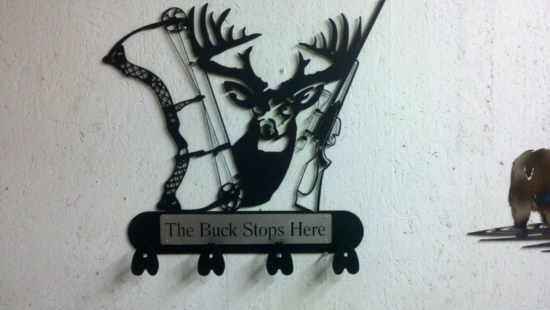 Hand Crafted Deer Hunter Coat Rack By Smfx Custommade Com