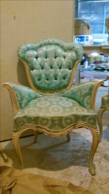 Custom Made Refinished Antique Chair