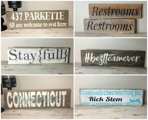 Custom Made 6x20 Custom Wood Sign | Fully Painted |