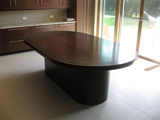 Custom Made Oval Dining Table