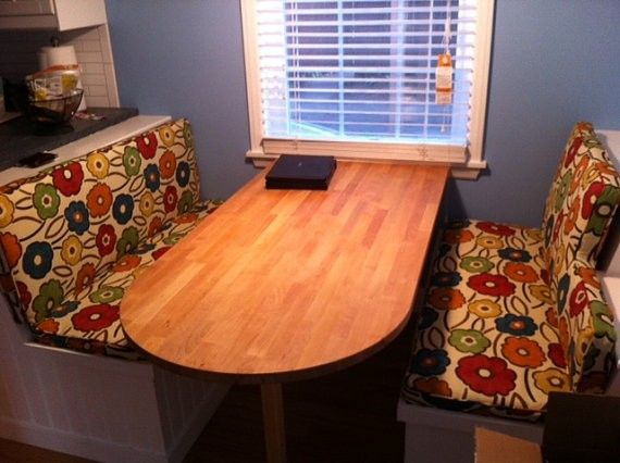 Handmade Custom Kitchen Nook Seat Cushions By Hearth And