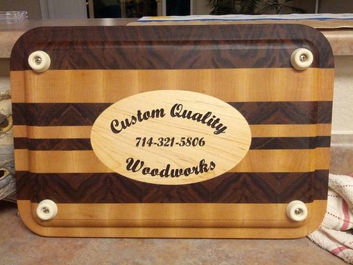 Custom Made Engraved Cutting Boards - Personalize With Your Image