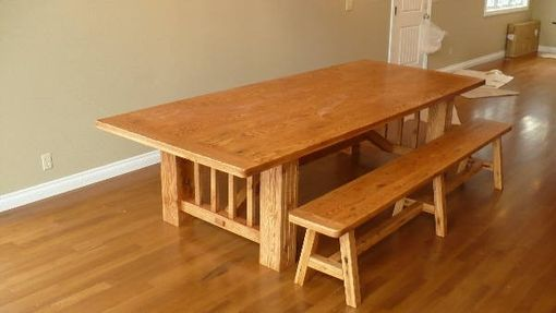 Custom Made 4' X 10' Dining Table