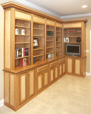 Custom Made Custom Built-In Library