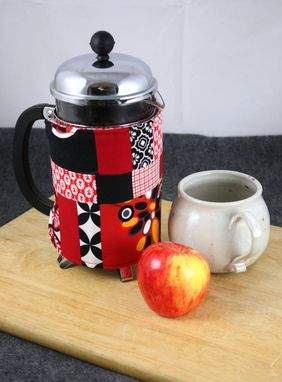 Custom Made French Press Coffee Cozy