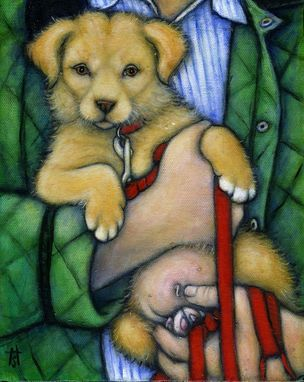 Custom Made Commission An 8x10 Oil Painting Of Your Favorite Canine