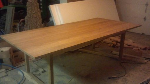 "Custom Made Reclaimed Wood ""Ogden"" Table / Desk (Cypress)"