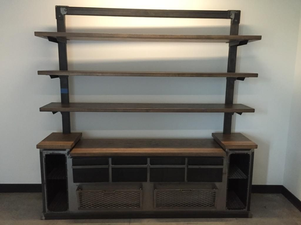office shelving units crafted modern industrial office credenza and 23952