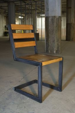 Custom Made Set Industrial Reclaimed Dining Chair (4)