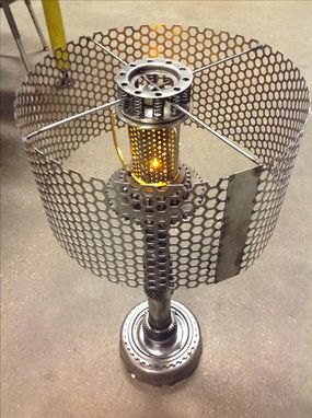 Custom Made Gear Lamp