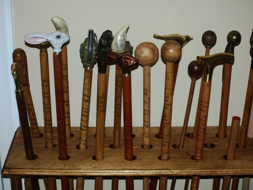 Custom Made Quotable Walking Sticks And Canes