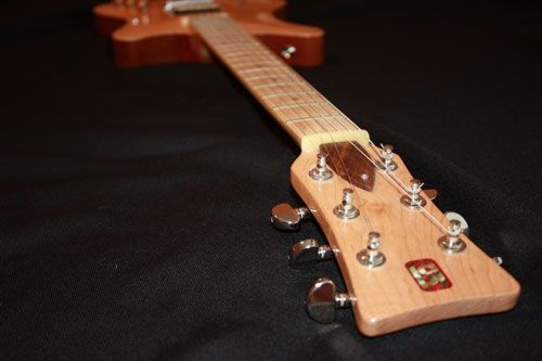 "Custom Made ""Whitson"" Hollow Body Electric Guitar"
