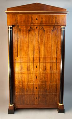 Custom Made Biedermeier Media Cabinet