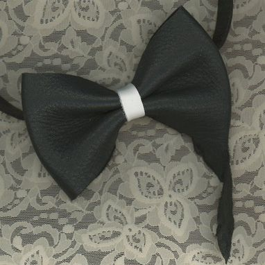 Custom Made Leather Bow Tie | Bow Ties