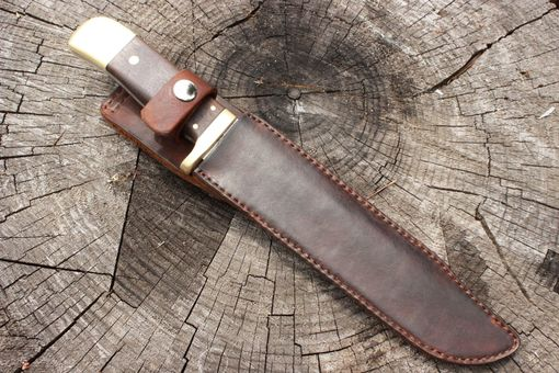 Custom Made Forged Bowie Knife