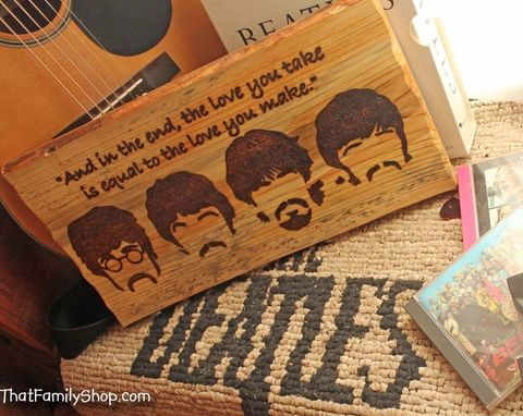 Custom Made Wood Burned Art  |  Pyrography