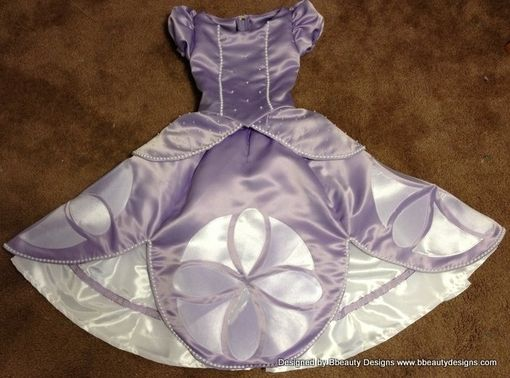 Custom Made Sofia The First Princess Dress Gown - Toddler Size