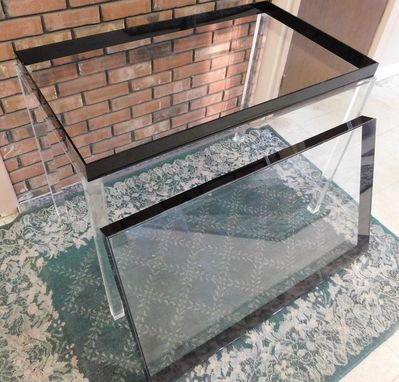 Custom Made Acrylic Display Table - Great Way To Display Collections, Pictures Or Nearly Anything