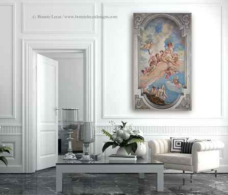 Custom Made Renaissance Venus And Adonis Mural