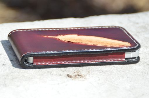 Custom Made Hand Made Leather Iphone 5 Case