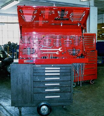 Custom Made Top Chest Tool Box Patented Design