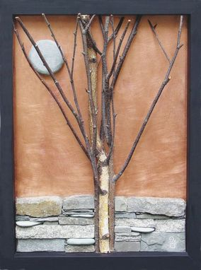 Custom Made Autumn Moon  Wall Sculpture