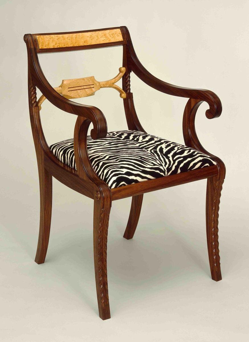 Custom Made Duncan Phyfe Arm-Chair