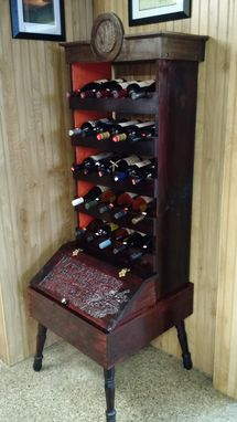 Custom Made Handmade Wine Rack