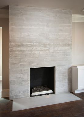 Custom Made Custom Concrete Fireplace Surrounds
