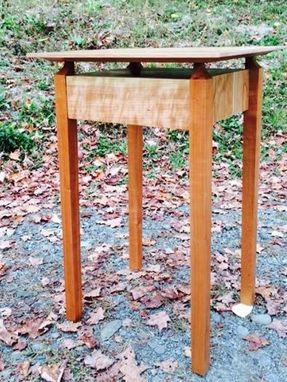 Custom Made Modern Mission End Table