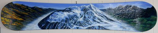 Custom Made Changing Seasons In Crested Butte-Snowboard Landscape